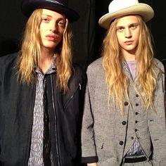 Male Model Otaku: Konan Hanbury: Spring/Summer 2014 【London~Milan】