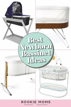 On top of the practical side, baby bassinets are completely on trend with the simplistic retro vibe. Honestly, we were shocked in doing our research at just how beautifully designed some of these truly are. There are just too many to choose from, so we're breaking down the very best baby bassinets out there just for you. Check them out! Baby Nursery Decor, Nursery Ideas, Bedroom Decor, Toddler Rooms, Kid Rooms, Baby Tips, Baby Hacks, Preparing For Baby, Baby Bassinet