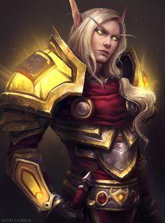 Varniroth[C] - Blood Elf - World of Warcraft Art Warcraft, World Of Warcraft Game, World Of Warcraft Characters, Fantasy Characters, Character Portraits, Character Art, Character Design, Fantasy Races, Fantasy Armor
