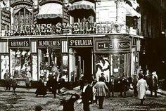 Almacenes Santa Eulalia/Les Rambles.1910
