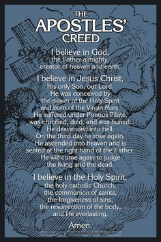 The Apostle's Creed for spiritual warfare. Kneeling on the floor open your arms (as a cross) and pray 70 apostle's creed. Each ten pray an Our father. It's an amazing prayer. Faith Bible, Faith In God, Bible Scriptures, Bible Quotes, Qoutes, Catholic Prayers, Novena Prayers, Catholic Beliefs, Spiritual Prayers