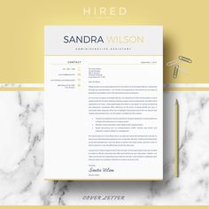Creative Cover Letter Design
