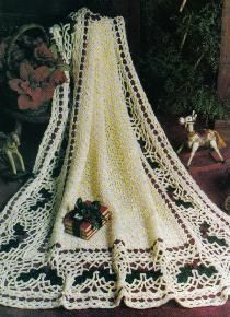 Holly afghan free crochet pattern, could easily convert to bats.....