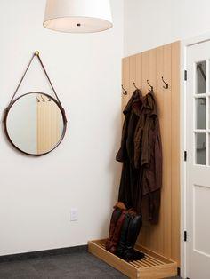 玄関 Kitchen remodel 片開き - ホワイト 新築 玄関ホール画像 インテリア実例
