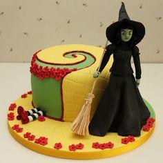 Pastel de la bruja del Oeste del Mago de Oz