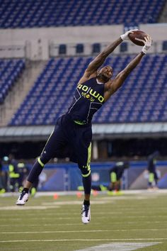 The Seahawks select, with their first pick of the 2014 NFL draft, Colorado WR, Paul Richardson.