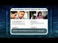 Request Your Absentee Ballot Before It's Too Late - http://www.militaryavenue.com/Articles/Request+Your+Absentee+Ballot+Before+Its+Too+Late-41014.aspx