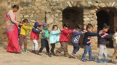 Sortie scolaire à Delhi