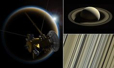 Cassini probes begins death dive into Saturn's atmosphere | Daily Mail Online