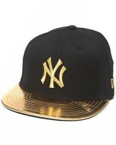 Buy New York Yankees 59th Anniversary Metallic Gold Edition 5950 Fitted hat Men's Accessories from New Era. Find New Era fashions & more at DrJays.com