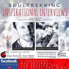 It's finally here! . It's time to get the creative juices flowing in my SoulTrekking Inspirational Interview Series #2 Facebook Live collabo Bali style with @longdistancelovebombs . Tomorrow join myself The SoulTrekker LIVE with Jeremy Goldberg rockstar author of @thoughtcatalog @rebellesociety and creator and founder of the kickass Long Distance Love Bombs! . Join us both tomorrow for an uncut unedited anything goes interview ON FACEBOOK LIVE! . Time still TBA . #soultrekker…