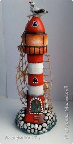 Картина панно рисунок Поделка изделие Папье-маше Немного морской темы  Бумага Клей Краска фото 3