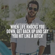 "5,203 Likes, 48 Comments - Entrepreneur Motivation (@ambitioncircle) on Instagram: ""Great one by @cashinoutluxury. When life pushes you, push it the heck back! Follow them for more…"""