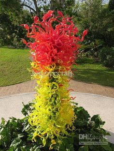 Image detail for -Hand Blown Outdoor Glass Tree Sculpture Light - China Blown Glass Tree . Tree Sculpture, Modern Sculpture, Garden Sculpture, Sculptures, Stained Glass Art, Mosaic Glass, Blown Glass Art, Glass Design, Windows