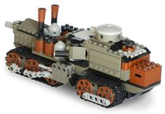 Main Battle Steam Tank Mk. XIV (rear)