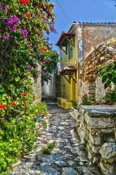 Alinosis Island Greece.