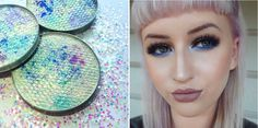 You'll want to get your fins on this gorgeous makeup.
