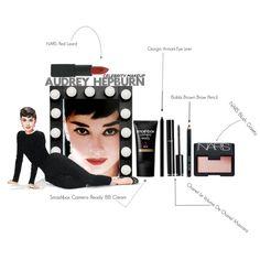 Everyday Makeup Look inspired by Audrey Hepburn in ...