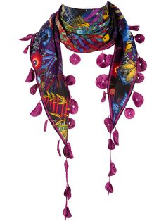 FOULARD DESIGUAL - hehe, I have this one :D love it!! suits many different colour schemes