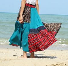 Hey, I found this really awesome Etsy listing at https://www.etsy.com/listing/196404189/maxi-skirt-cotton-hippie-women-long