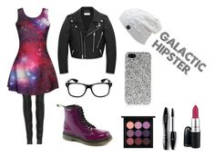 Galactic Hipster by musiclover4701 on Polyvore featuring polyvore, fashion, style, Yves Saint Laurent, The Row, MAC Cosmetics, Lancôme, Dr. Martens, women's clothing, women's fashion, women, female, woman, misses and juniors