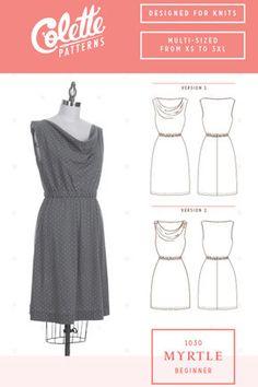 Colette No. 1030 - Myrtle⎜Dress Pattern