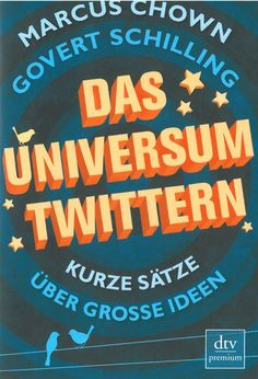 German language copies of Marcus Chown and Govert Schilling's 'Tweeting the Universe' as received from DTV