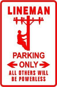 lineman sign I need this!!!! Haha