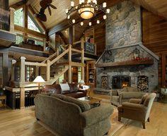 Living Room Seattle Lindal Cedar Homes Northwest Build Design
