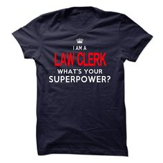 I'm A LAW CLERK T-Shirts, Hoodies. CHECK PRICE ==►…