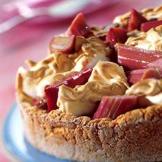 Rhabarber-Baiser-Kuchen Rezepte | Weight Watchers