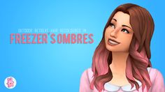 Here is my 250+ followers gift and my first cc! It has some imperfections that I couldn't fix but I still think this is pretty cool. I plan on recolour more hairs in this ombres too. Hope you like it...