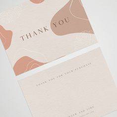 Packaging Ideas Discover Thank you for your order cards Business Stationery Business card thank you card business brandin Thank you for your order cards Business Stationery Business card thank you card business branding complementary slip note card Business Branding, Stationery Business, Stationery Design, Business Card Design, Branding Design, Etsy Business, Identity Branding, Corporate Design, Visual Identity