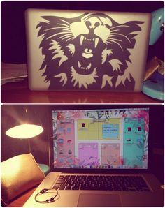 custom macbook wallpaper lion personalizar portatil