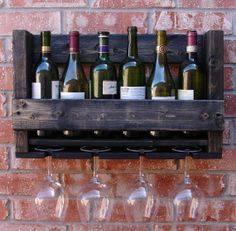 Hey, I found this really awesome Etsy listing at https://www.etsy.com/listing/163466222/simply-rustic-6-bottle-wall-mount-wine