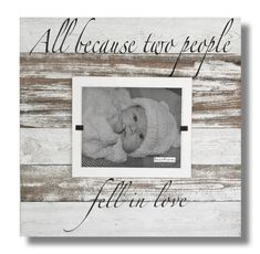 New Baby gift   Nursery Decor   5 year Anniversary Gift   Newborn gift   Baby love frame   reclaimed wood 4 x 6 & 8 x 10 picture frame #PalletWood #PictureFrame #HomeDecor #ReclaimedWood #BabyShowerFrame #whitewashed #ShabbyChic #NewBornBabyFrame #RusticPictureFrame #barnwood Reclaimed Wood Picture Frames, Rustic Picture Frames, 10 Picture, Picture On Wood, Picture Sizes, Framed Wall Art, Wood Wall Art, 5 Year Anniversary Gift, Baby Shower Frame