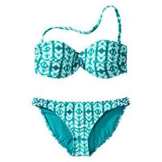 Converse® One Star® Women's 2-Piece Bandeau Swimsuit - Aqua  From target.com · Originally posted by mickis