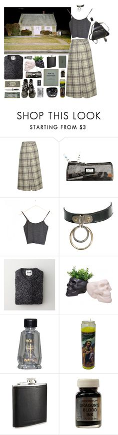"""293 //Metal Church//"" by snake-eyes-and-sissies ❤ liked on Polyvore featuring J.W. Anderson, NYX, French Connection and Zippo"