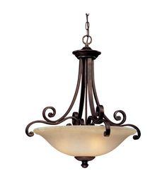 Dolan Designs Brittany 3 Light Pendant in Deep Bronze 1084-207 #lightingnewyork #lny #lighting