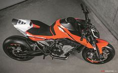 What's next for KTM? The brand has, however, unveiled a new concept bike at this year's EICMA show in Milan. Called the KTM 790 Duke […] Duke Motorcycle, Motorcycle Garage, Motorcycle Design, Motorcycle Parts, Ktm Motorcycles, Concept Motorcycles, Ktm Duke, Road Bikes, Dirt Bikes