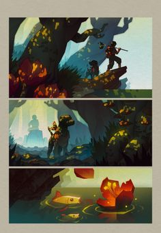 Vlad Gusev:   I like the use of light in these illustrations.