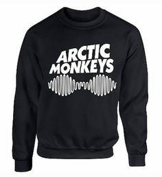 Arcticmonkey sweatshirt/jumper by CURIOUSGUYZ on Etsy