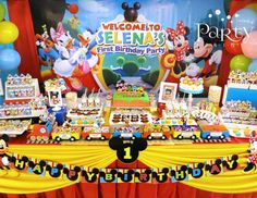 Selena's First Birthday Bash - Mickey Mouse Clubhouse