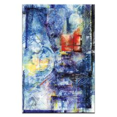 Absence of Reality 007 by Kathy Morton Stanion Painting Print on Canvas