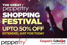 #Pepperfry #Shopping #Festival Upto 50% Off on #Furniture, #HomeDecor and more. Shop Now