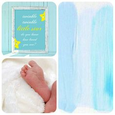 Nursery Poster with a Sweet Lullaby - Poster Cameretta Neonato