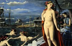 Birth of Venus, 1947  Paul Delvaux