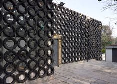 This building in Venice is covered in 1,000 used car tires | Inhabitat - Sustainable Design Innovation, Eco Architecture, Green Building