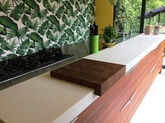 Snaidero kitchen in Teak wood