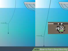 Image titled Fish a Drop Shot Rig Step 5
